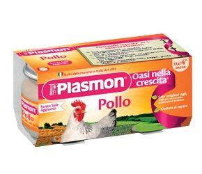 PLASMON (HEINZ ITALIA SpA) Plasmon Omog Pollo 80gx2pz