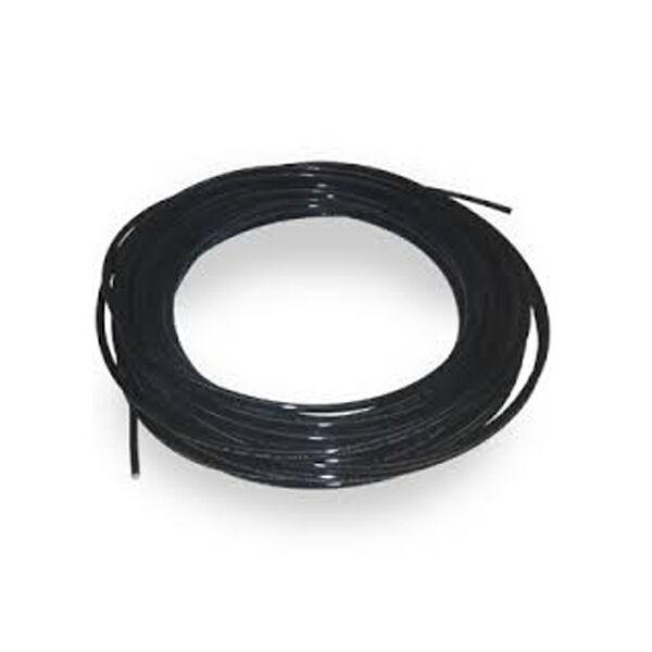 Tubo polietilene mm 10 x 7 nero matassa mt. 5