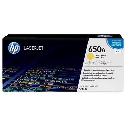 Hp Inc HP Toner 650A Giallo