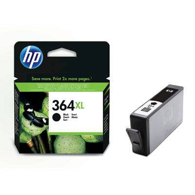 Hp 364XL Nero cartuccia d'inchiostro originale XL CN684EE