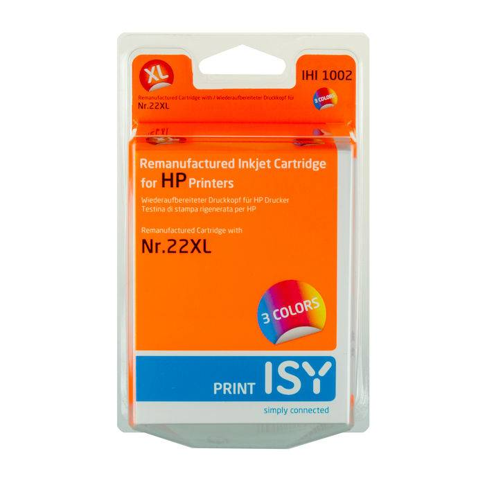 Isy 22XL HP Colore Blister