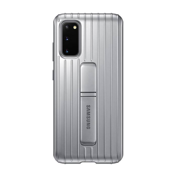 Samsung Protective Standing Cover S20 Silver
