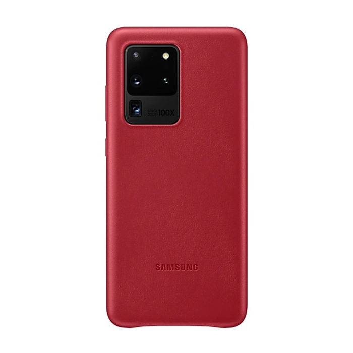SAMSUNG Ultra Leather Cover Galaxy S20 Red