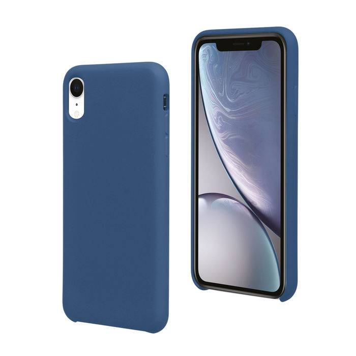 Isy Cover Soft per iPhone XR Blue