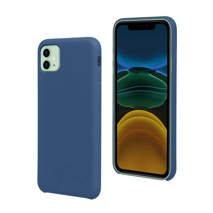 Isy Cover Soft per iPhone 11 Blue
