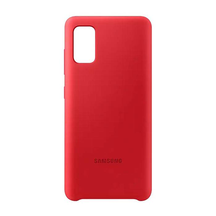 SAMSUNG Silicone Cover Galaxy A41 Red