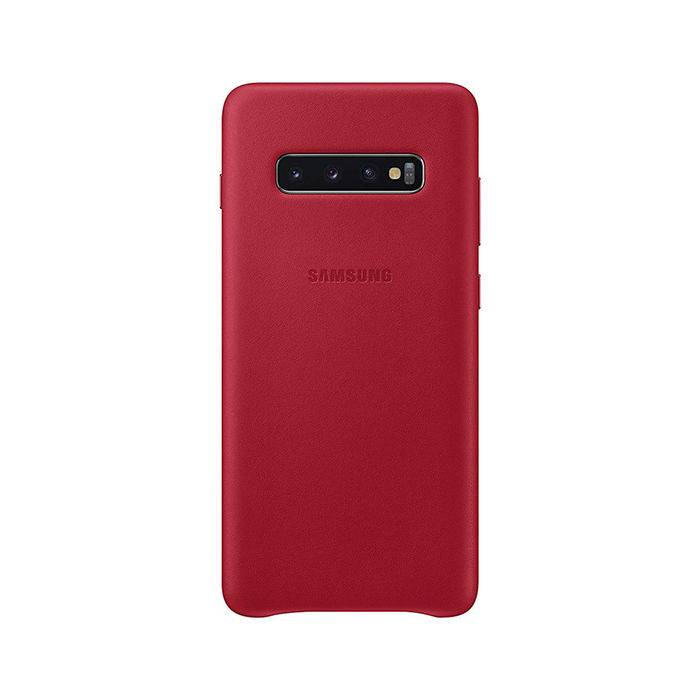 Samsung Cover Pelle Galaxy S10+ Red