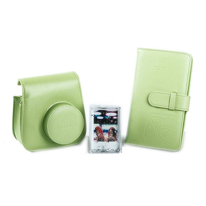 Fujifilm INSTAX MINI9 KIT ACCESSORI LIME GREEN