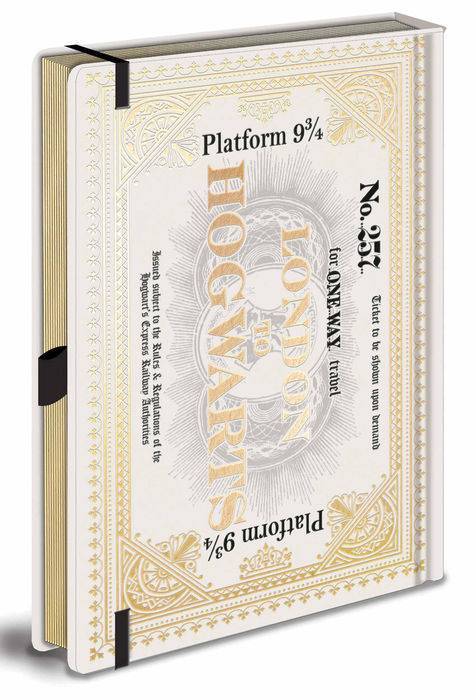 It-Why Harry Potter (Hogwarts Express) Premium A5 Notebook