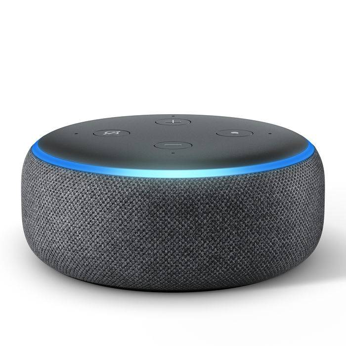 Amazon ECHO DOT (3ª generazione) Antracite