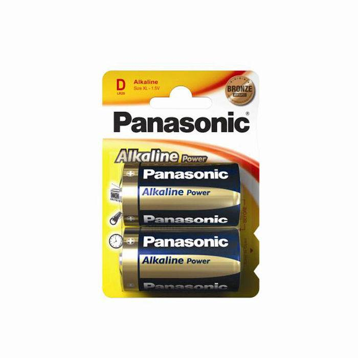Panasonic Alkaline Power LR20APB/2BP