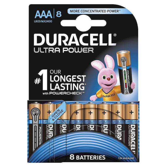 Duracell Ultra Power Ministilo B8