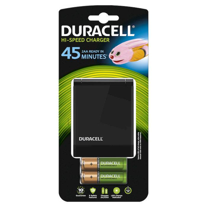Duracell Caricabatterie Speedy