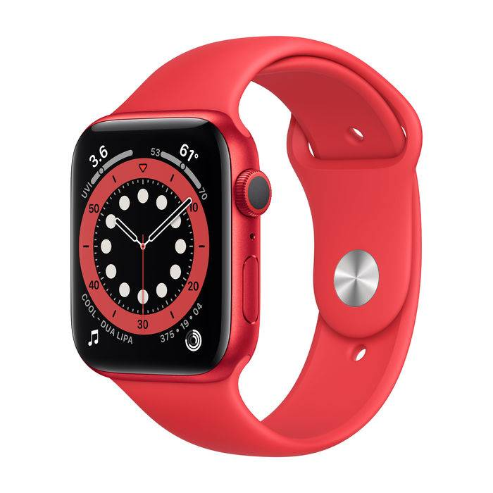 Apple Watch Series 6 GPS 44mm in alluminio PRODUCT(RED) - Sport PRODUCT(RED)