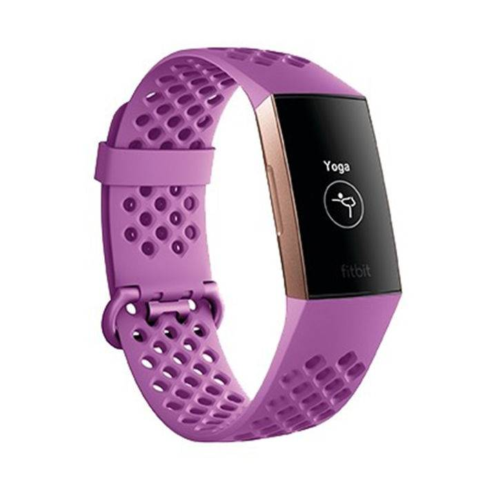 Fitbit Charge 3 Limited Edition Lampone