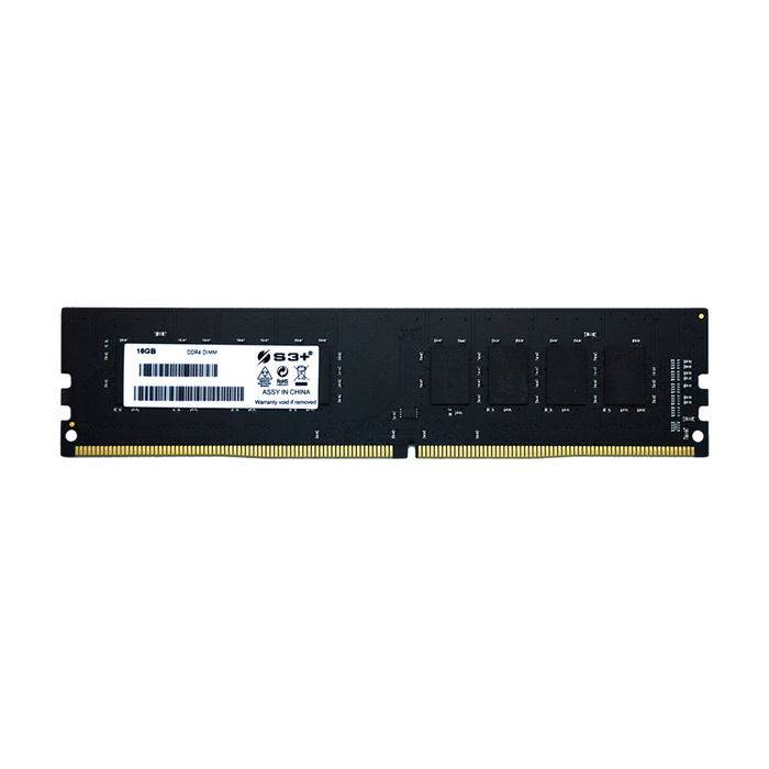 S3+ 16GB DIMM DDR4 2666MHZ CL19