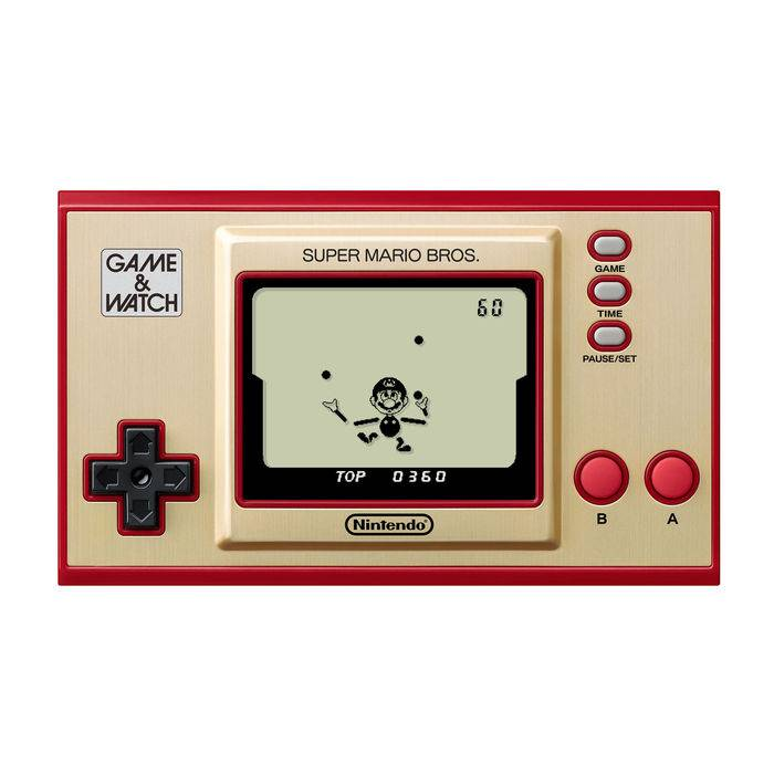 Nintendo Game & Watch: Super Mario Bros