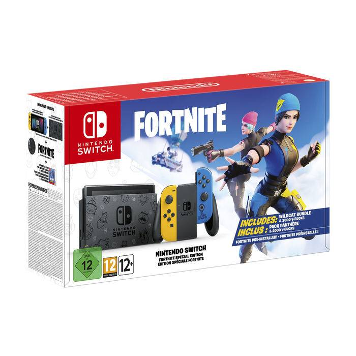 Nintendo Switch Edizione Speciale Fortnite
