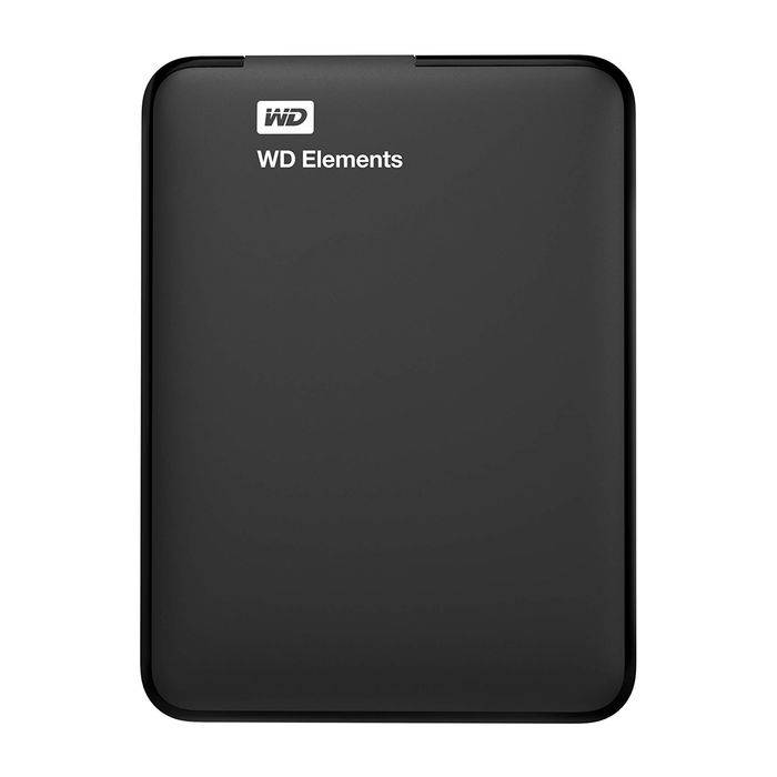 western digital wd elements portable 2tb, hard disk esterno, usb 3.0