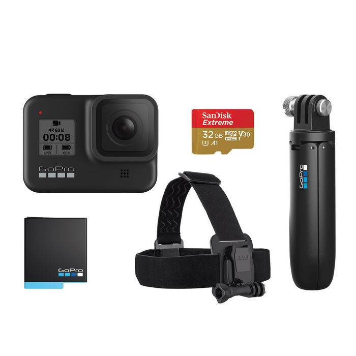 Gopro HERO 8 Black - Hard Bundle