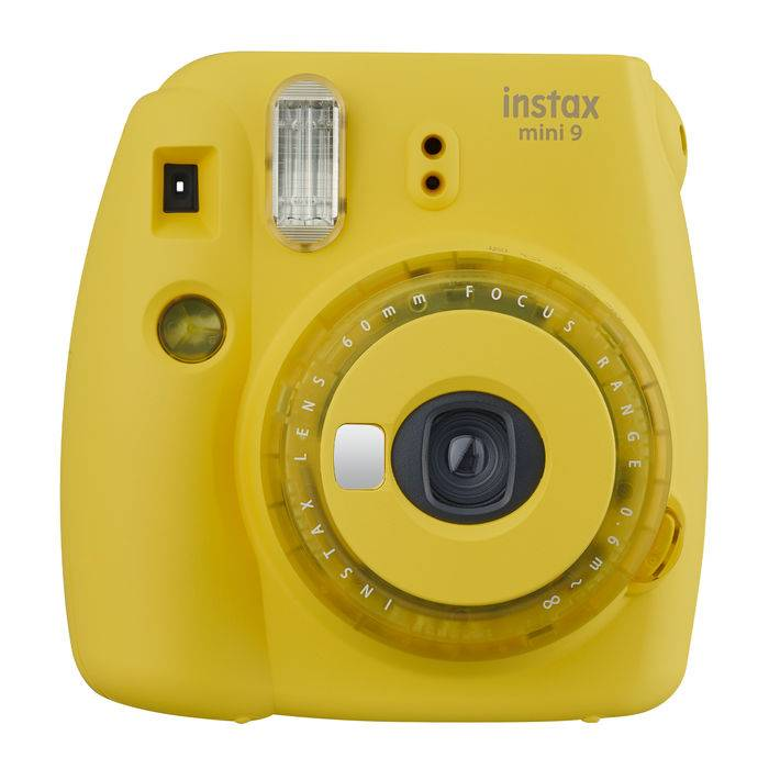 Fujifilm INSTAX MINI 9 CLEAR YELLOW GIALLO
