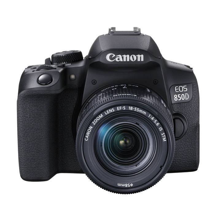Canon EOS 850D 18-55 F/4-5.6 IS Black