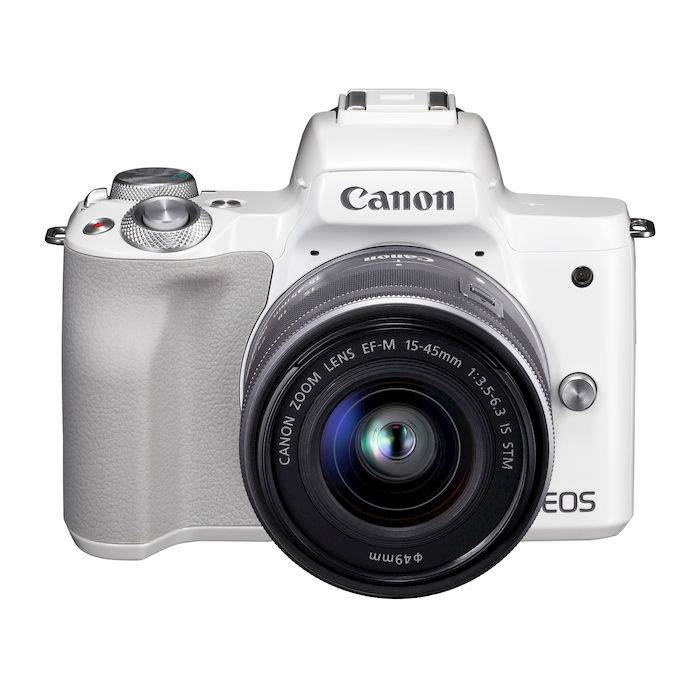 Canon EOS M50 15-45 IS STM WHITE