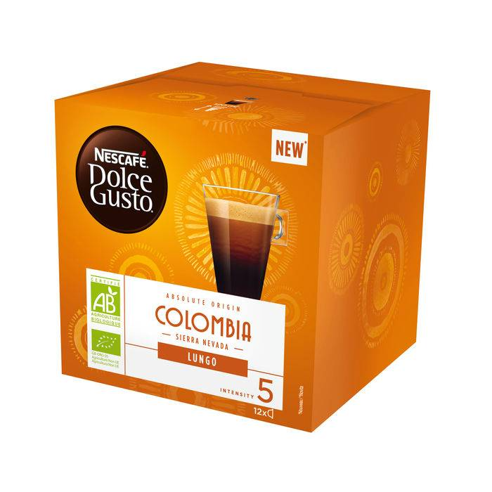 Nescafe&Apos; Dolce Gusto Lungo Colombia