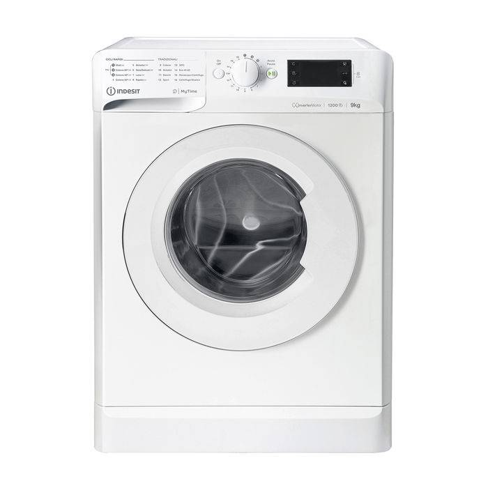 Indesit MTWE 91283 W IT lavatrice carica frontale 9 kg, D
