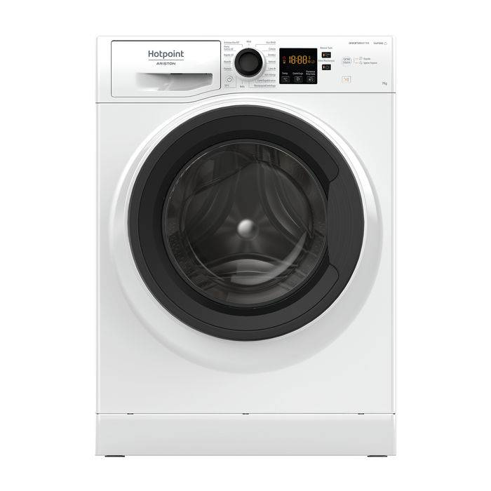 Hotpoint NF723WK IT N lavatrice carica frontale 7 kg, D
