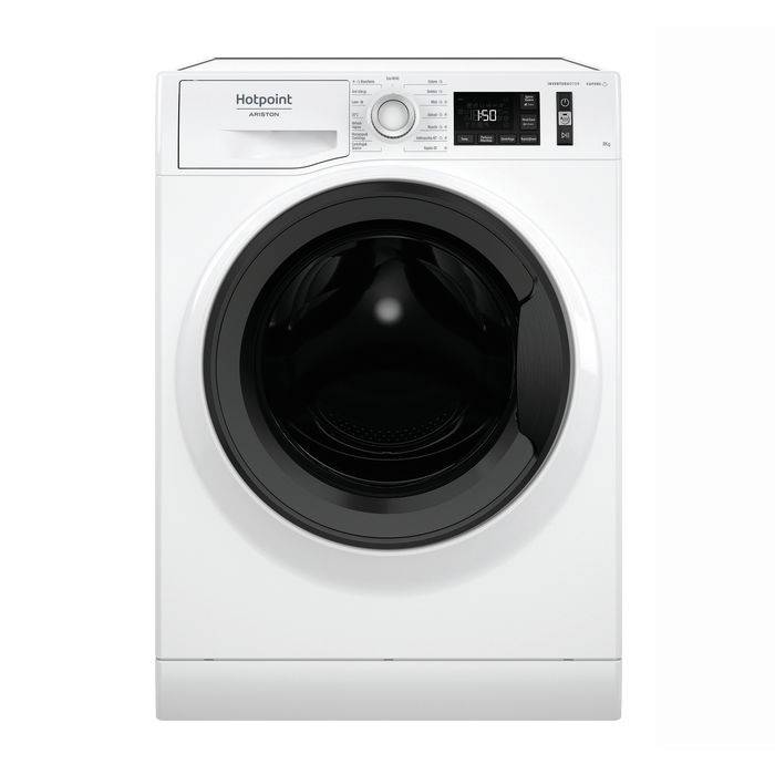 Hotpoint Ariston HOTPOINT NG845WMA IT N lavatrice carica frontale 8 kg, B
