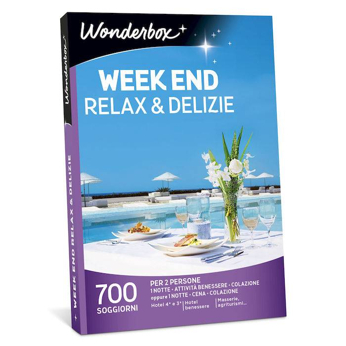 Wonderbox Week end relax & delizie