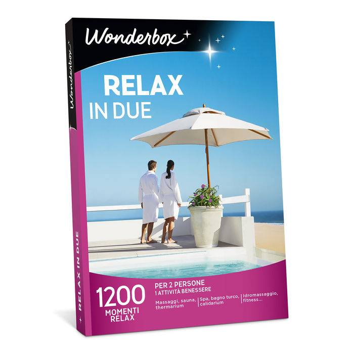 Wonderbox Relax in due