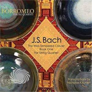 Video Delta Borromeo String Quartet - Bach Well-Tempered Clavier Book One For String - CD