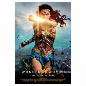Warner Bros Poster Wonder Woman