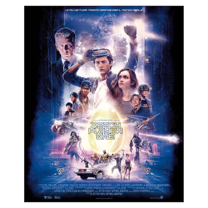 Warner Bros POSTER READY PLAYER ONE