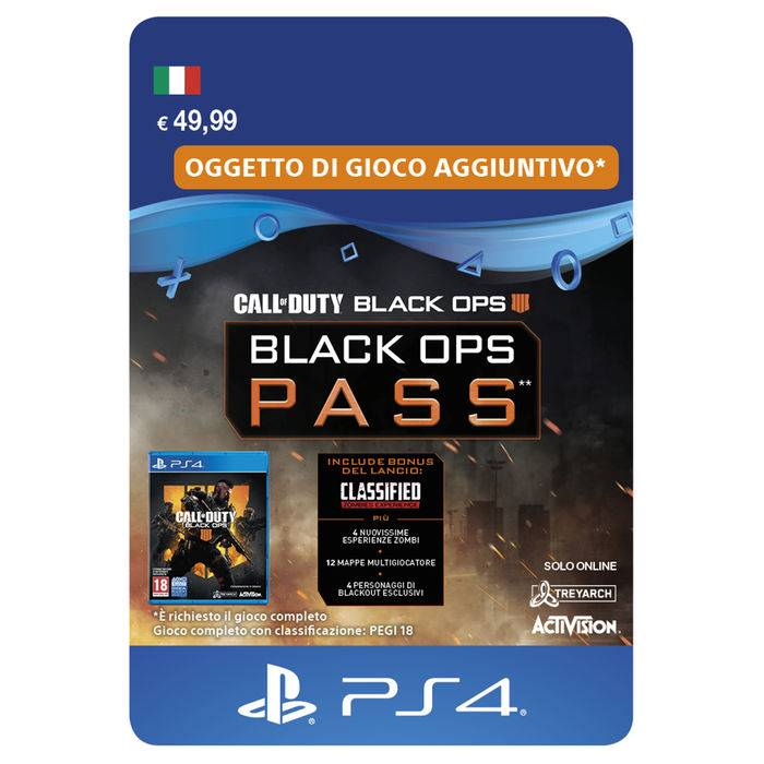 Sony COD BLACK OPS 4 PASS ESD