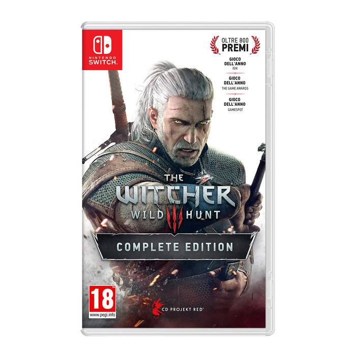 Namco Bandai The Witcher 3 Wild Hunt - NSW
