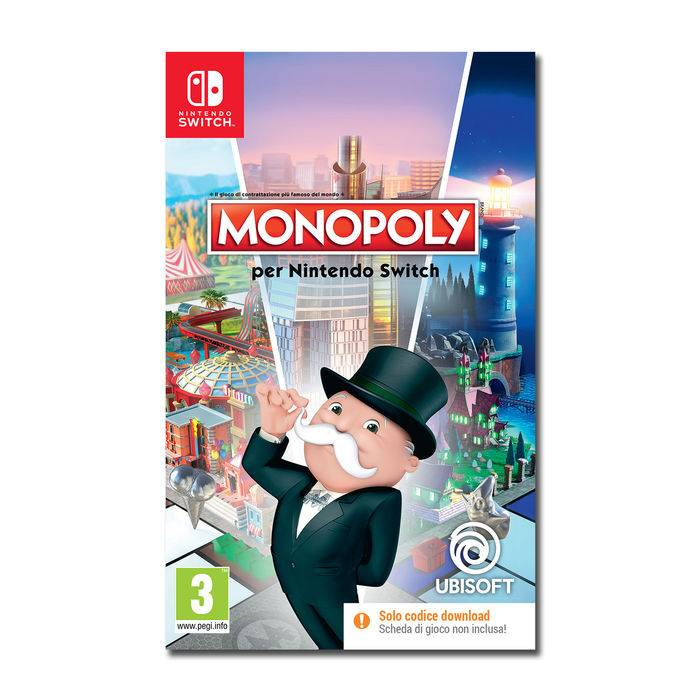 Ubisoft Monopoly CODE IN A BOX - NSW