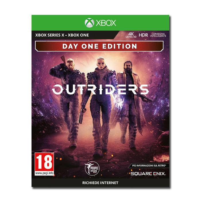 Koch Media Outriders Day One Edition - Xbox Series X
