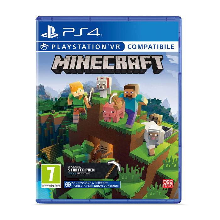 Sony Minecraft Starter Collection - PS4