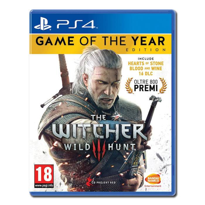 Namco Bandai The Witcher III: Wild Hunt - Game Of The Year - PS4