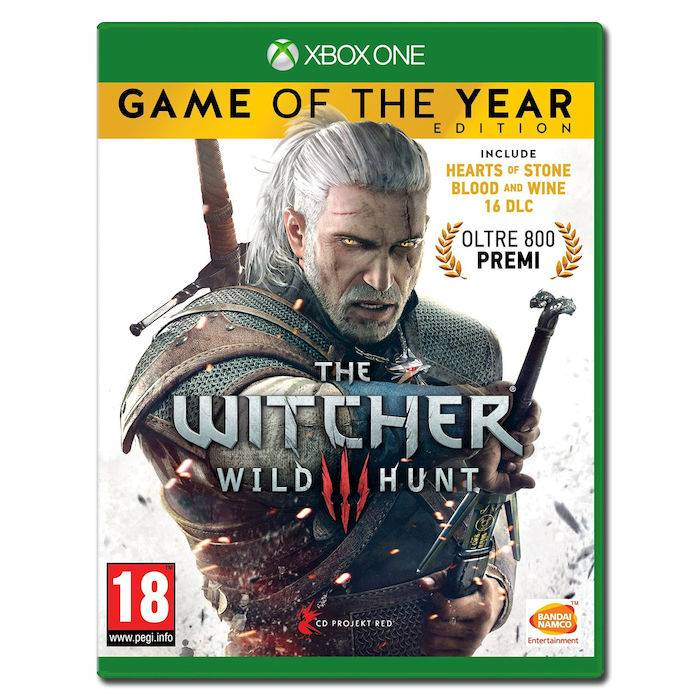 Namco Bandai The Witcher III: Wild Hunt - Game Of The Year - XBOX ONE