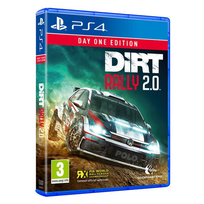 Koch Media DiRT Rally 2.0 - Day One Edition - PS4