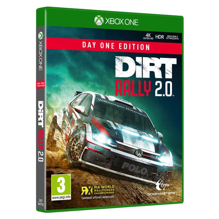 Koch Media DiRT Rally 2.0 - Day One Edition - XBOX ONE