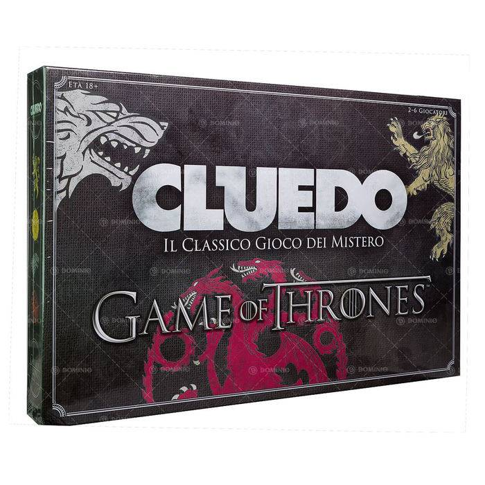 It-Why WM-CLUEDO GAME OF THRONES