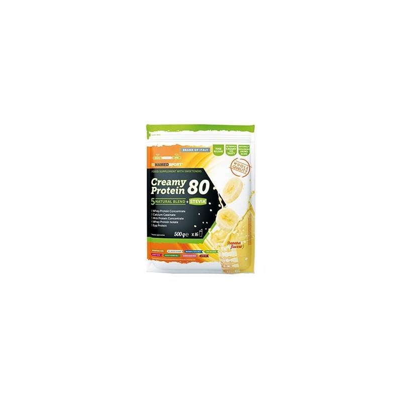 Named Sport Creamy Protein 80 Banana 500g