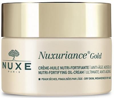 lab. nuxe italia srl socio un. nuxe nuxuriance gold creme huile nutri fortifiante 50 ml
