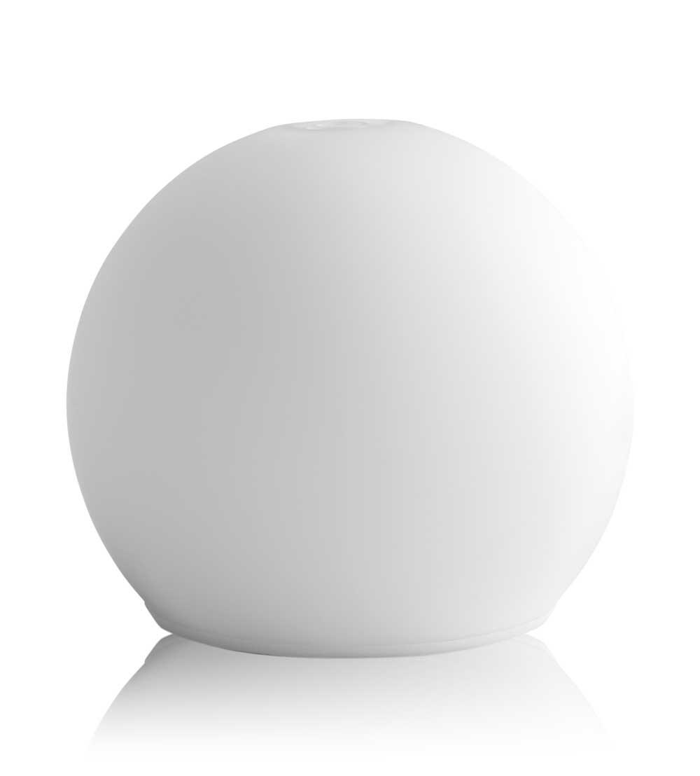 hp italia srl purae lampada ad ultrasuoni in vetro aura sfera
