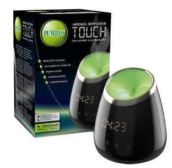 coswell spa pumilio aroma diffuser touch- diffusore di vapori balsamici naturali 1 diffusore + 1 olio essenziale balsamico in omaggio